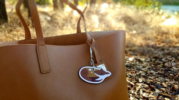 Coach Bag Charm