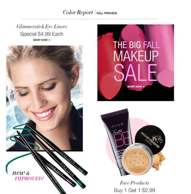 Fall Makeup Sale Going On Now!