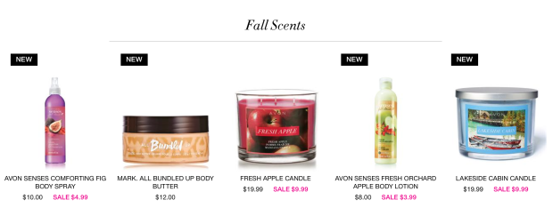 Fall Scents Now On Sale