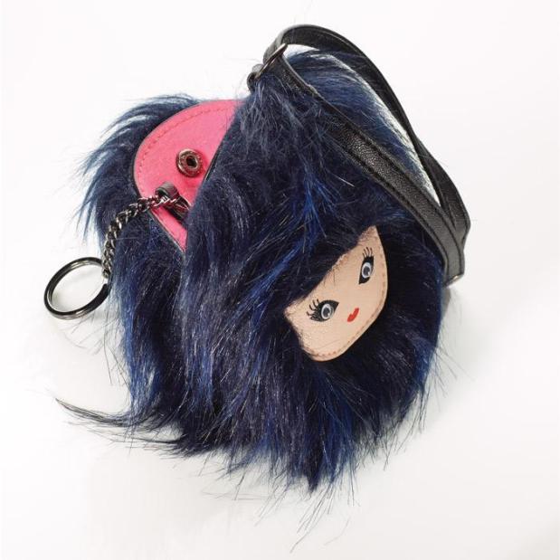 mark. Bad Hair Day Bag Charm