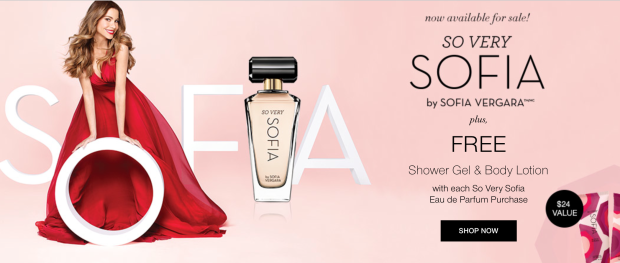 Free Gift With So Very Sophia Perfume Purchase!