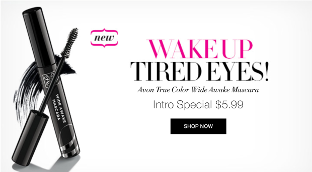 Avon Wide Awake Mascara -- Intro Special!