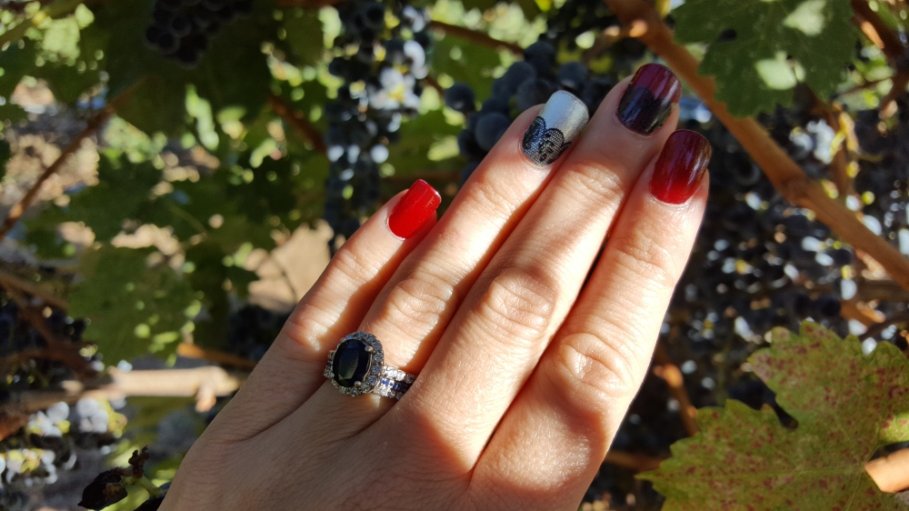 Avon SpeedDry in Red Wine and Lace Overlay Wraps from Jamberry!