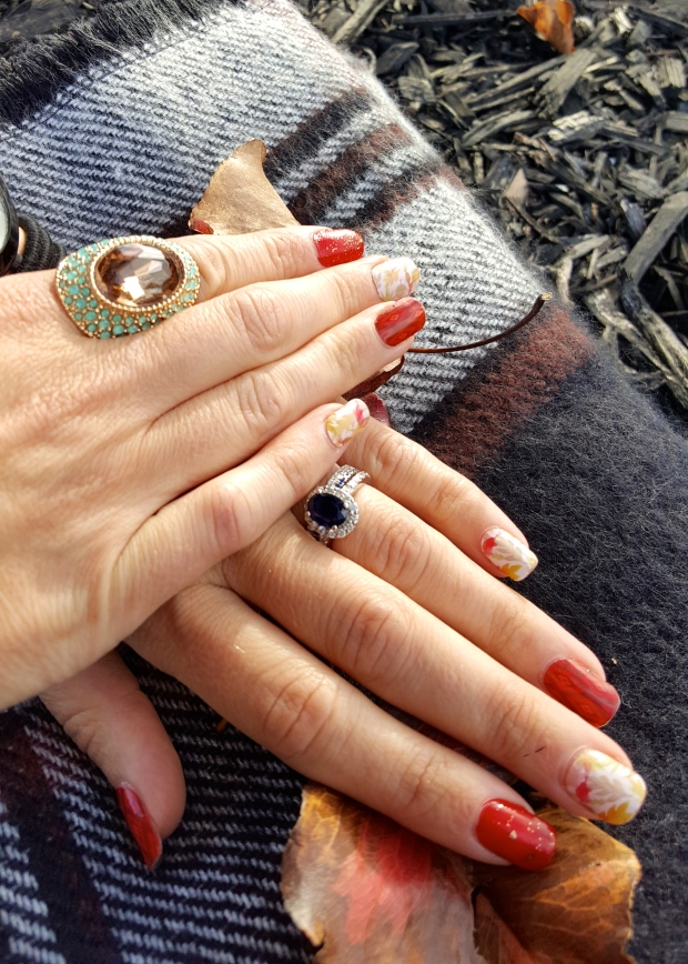 Mani Monday - Oktoberfest Nails