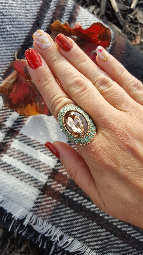 Avon Ring and Fall Mani