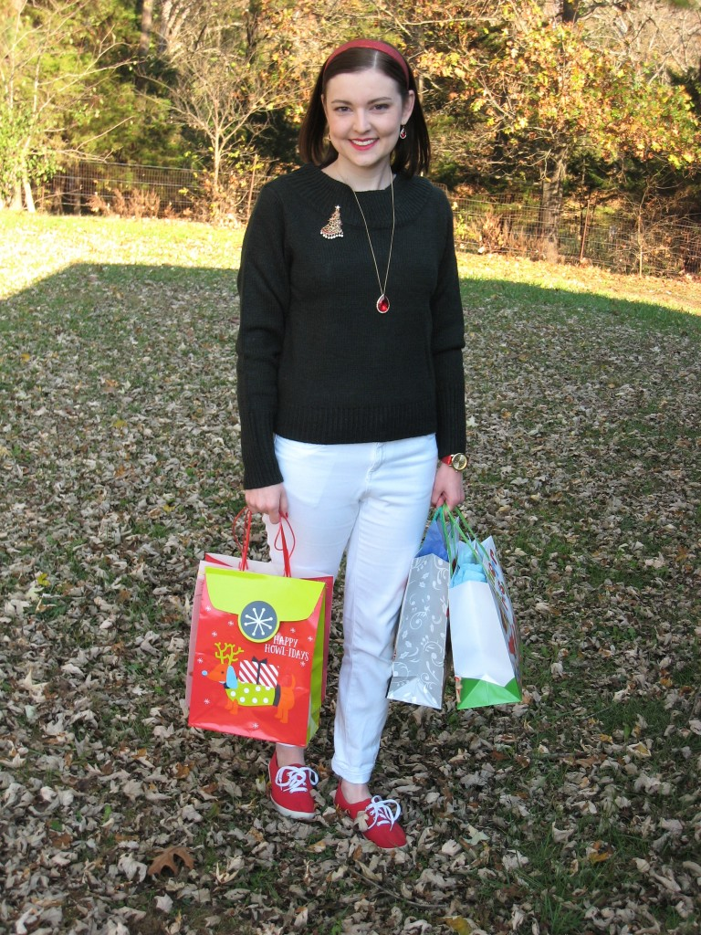 Erica's Casual Holiday Potluck Look