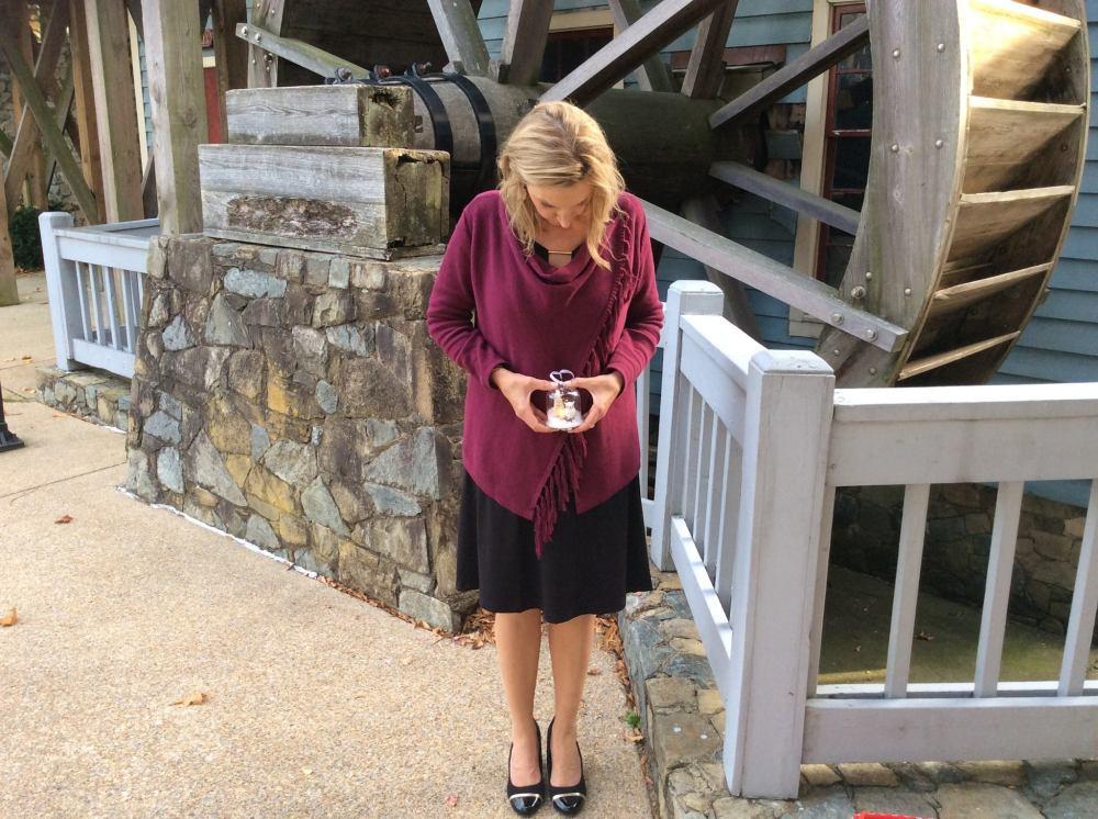 Avon Fancy Fringe Sweater