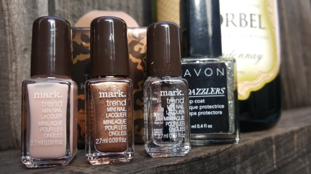 mark. Nailed It Gift Set and Avon Dazzlers in Disco Ball