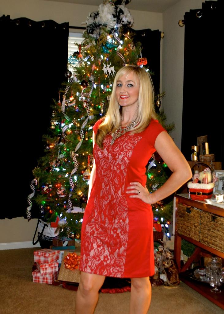 Avon Perfectly Polished Lace Dress