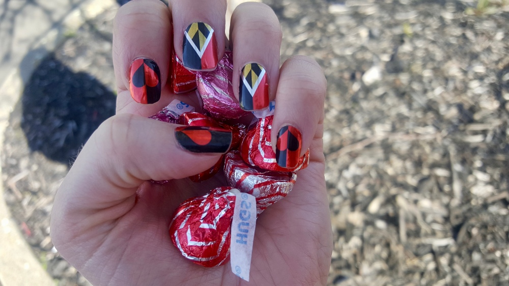 Disney Villains Jamberry Wraps:  The Red Queen