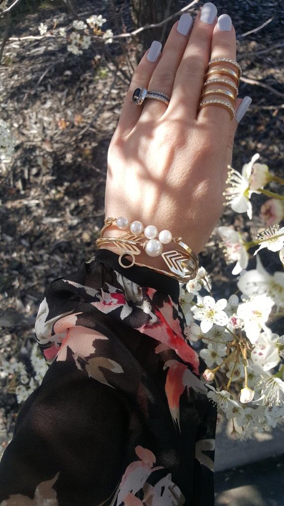 Spring Arm Party:  mark. Stacked In Your Favor Bracelet Set