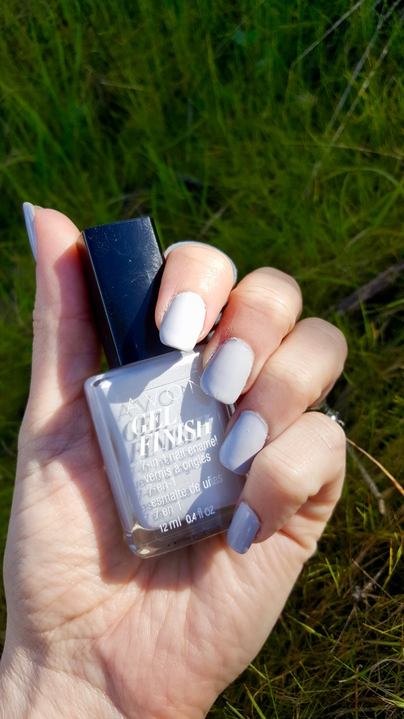 Avon Gel Finish in Moondust Swatch