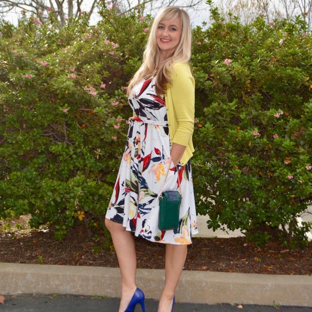 Avon Romantic Floral Dress For Easter
