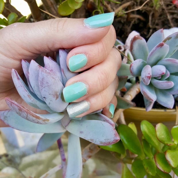 Mani Monday:  Seabreeze