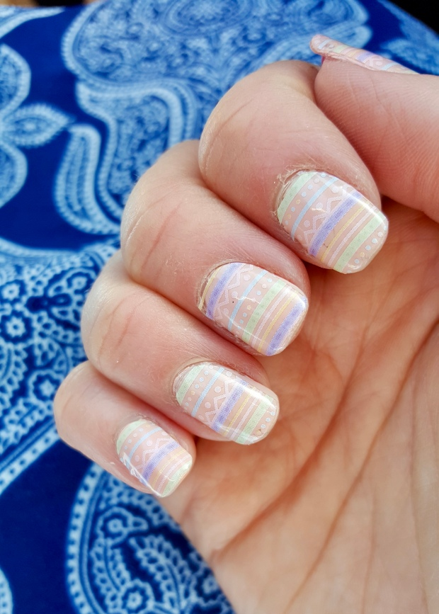 Jamberry Paint Me Pastel Over Essie A Crewed Interest