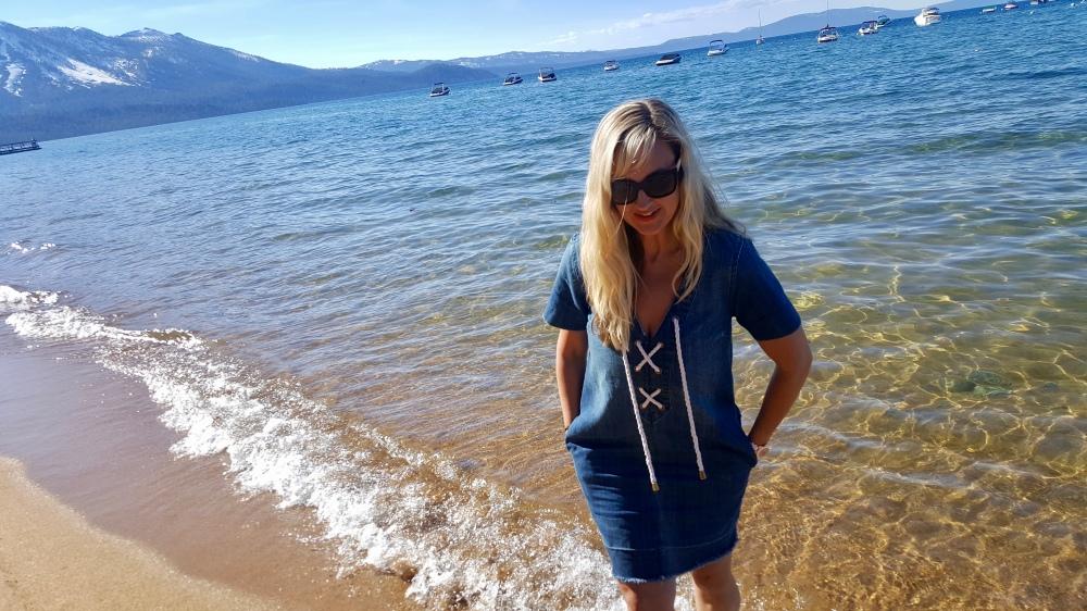 The Perfect Lake Dress - mark. Vintage Wash Dress