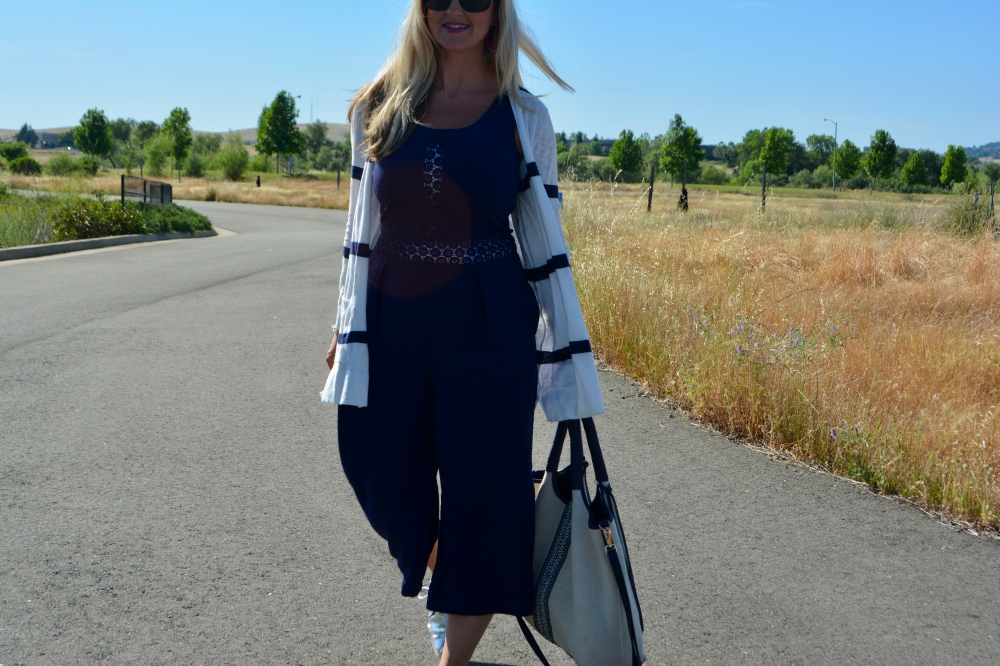 Nautical Cardi - A Travel Must Have