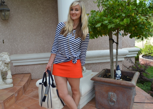 Nautical Striped Look