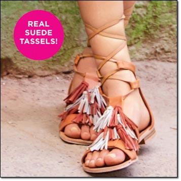 mark. Walking Tour Sandals