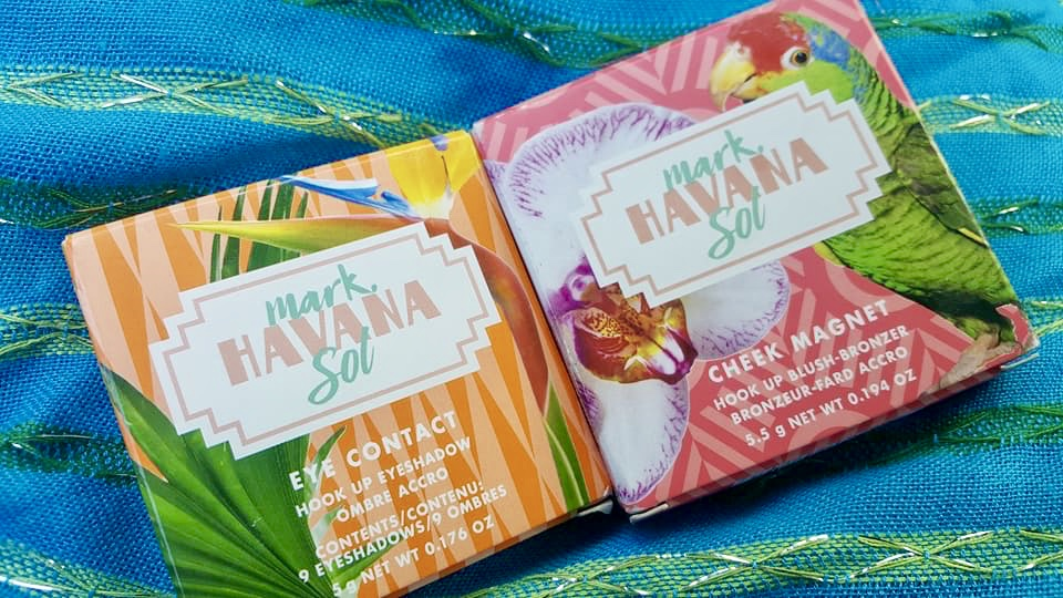 Makeup Monday: Limited Edition mark. Havana Sol Beauty Collection