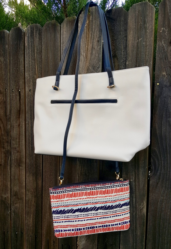 Two Bags In One!  Make it a cross body!