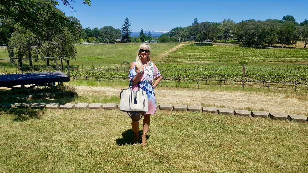 Full Havana Look For A Summer Winery Stop (w/some mountains in the background!)