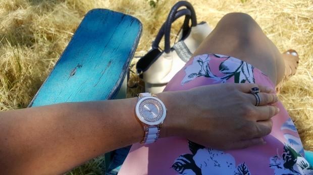 Avon Enamel Watch