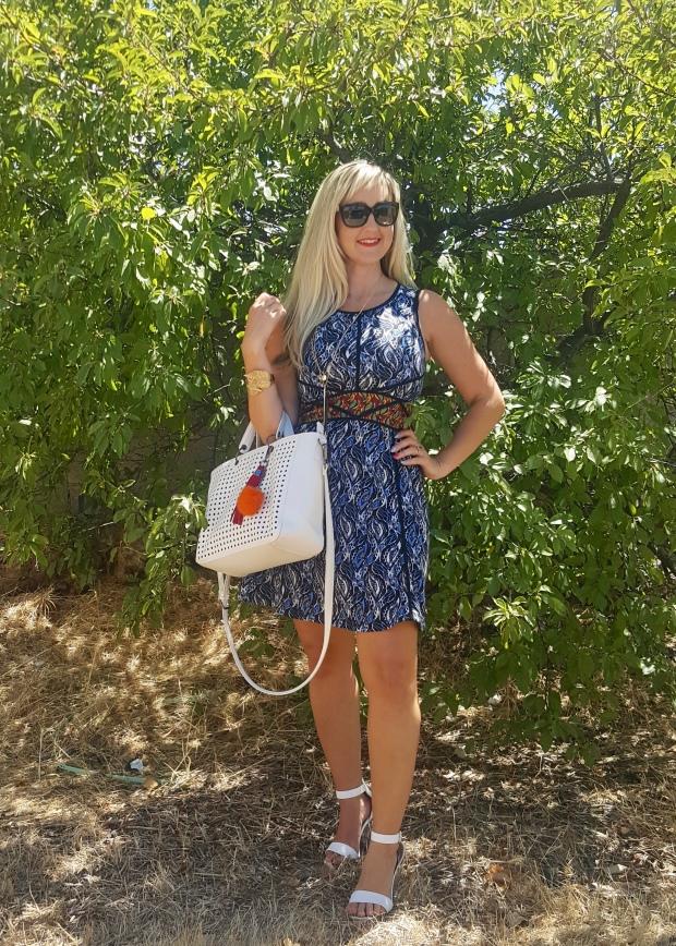 Red white and blue take on safari!