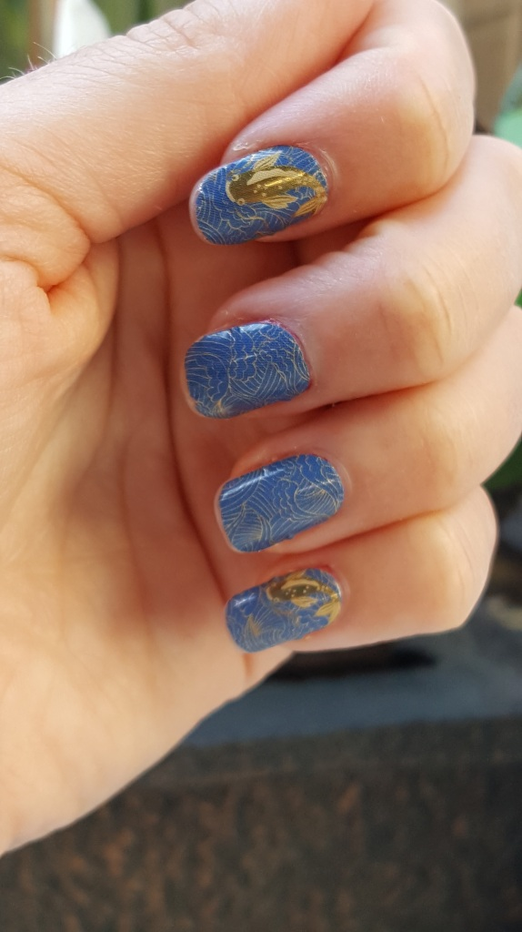Koi Fish For Mani Monday