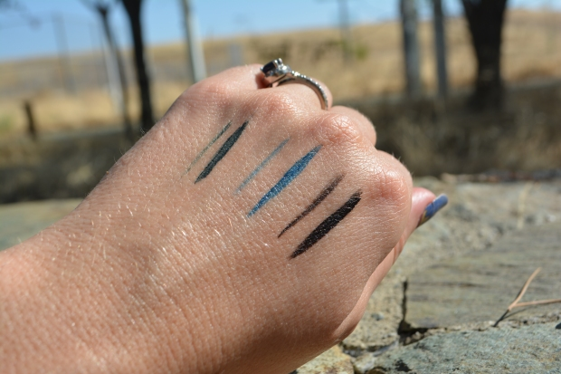 Swatches in Full Sun