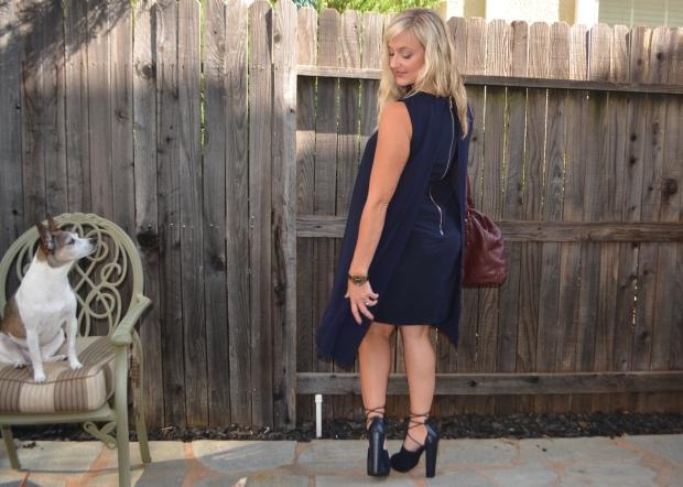 Avon Zip-Back Double Layer Dress
