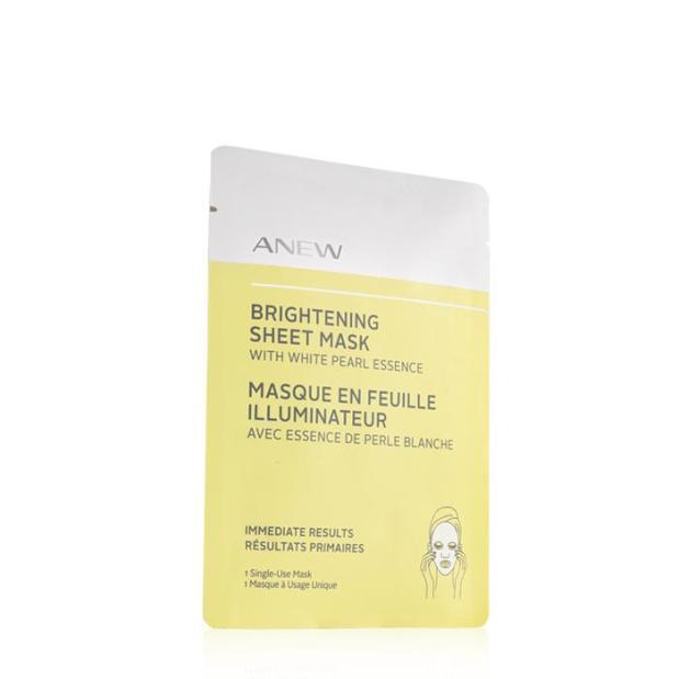 Anew Brightening Sheet Mask 1 individually-wrapped sheet