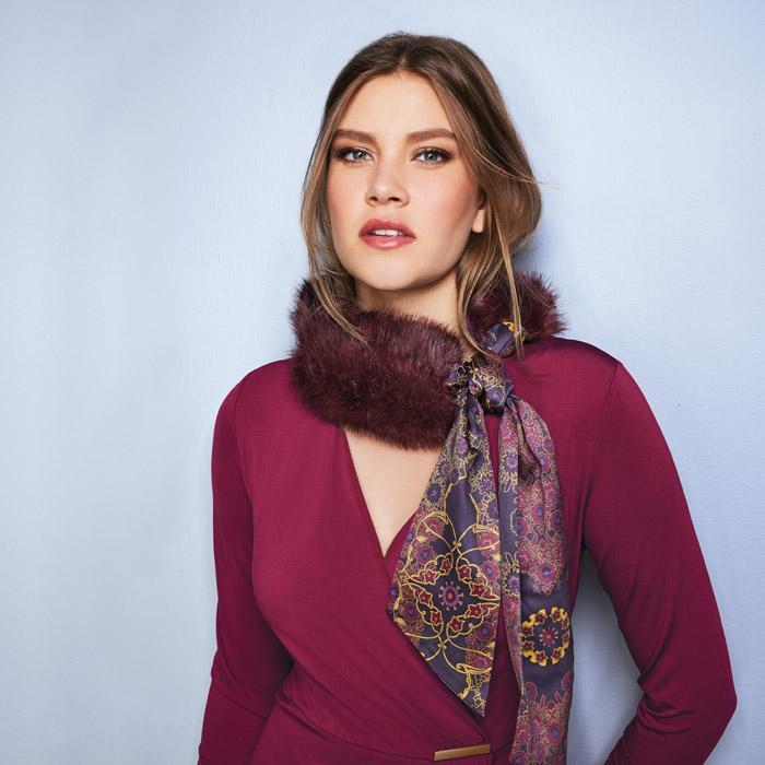 Avon Faux-Fur Fashion Stole