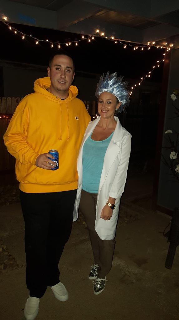 Rick and Morty Wish You Happy Halloween!