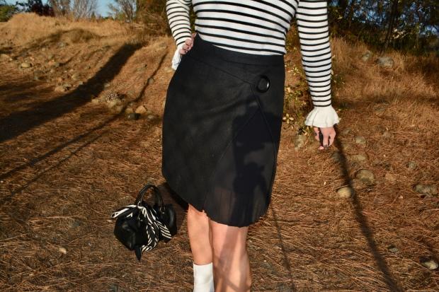 mark. Peek of Pleats Skirt