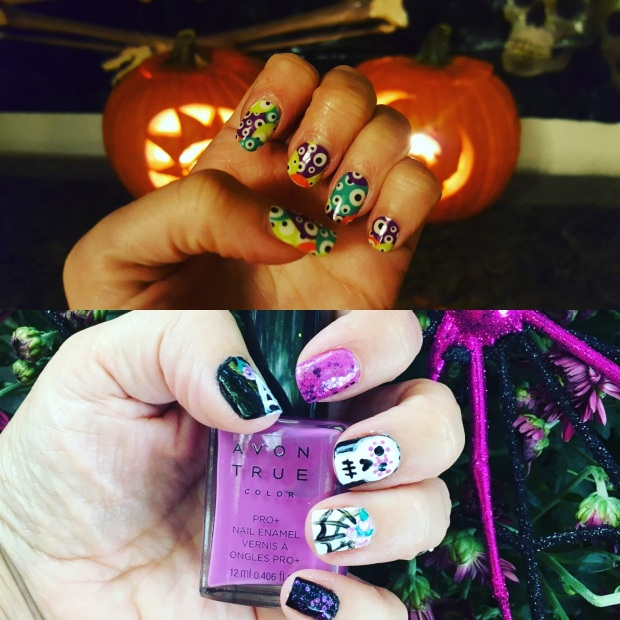 Happy Halloween Manis