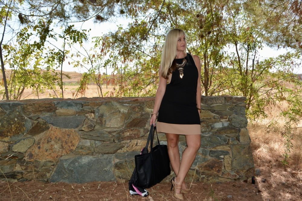 Luxe Fall:  Black and Camel