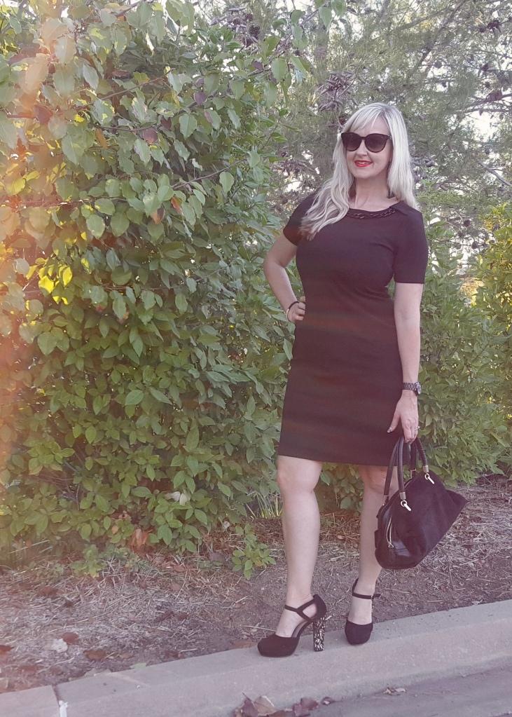 Avon Chain-Detail Dress