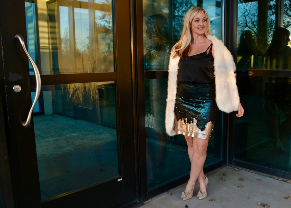 Alicia's Ultimate Holiday Party Skirt