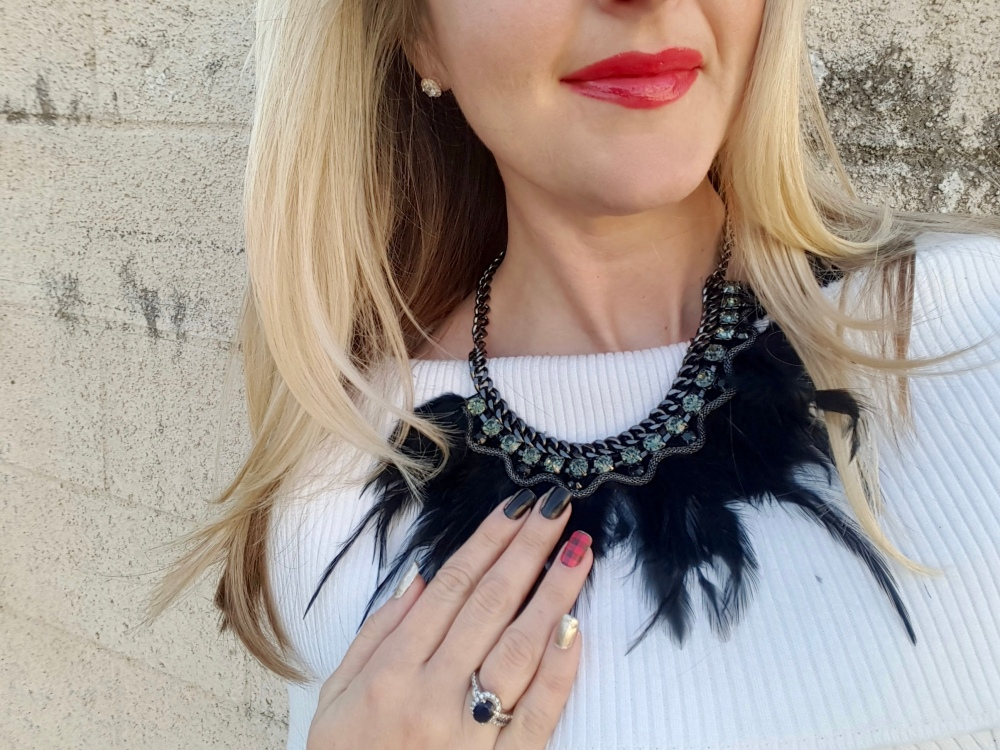 mark. So Fly Necklace for a festive and fierce look!