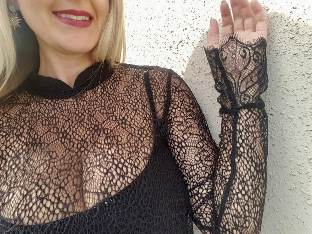 mark. About Lace Cami Blouse